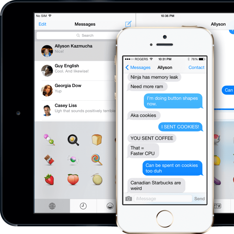how to send text message iphone instead of imessage