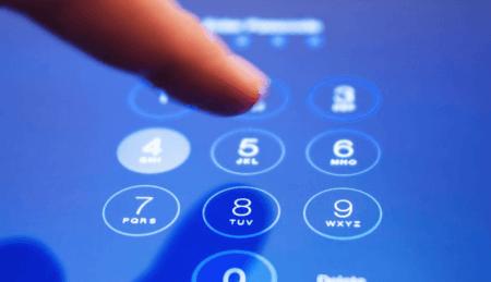 Сброс пароля блокировки iPad