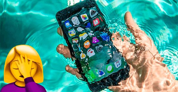 iPhone попал в воду, что делать?